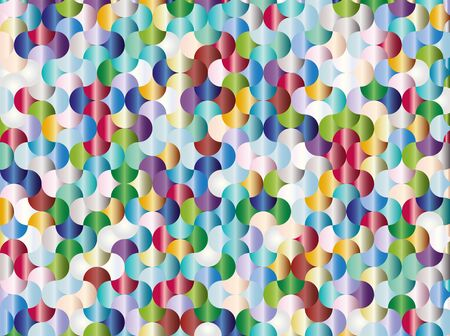 abstract illustration. colorful gradient mosaic pattern. geometric wallpaper for texture,background,gift wrapping paper,presentation,artwork or creative design.