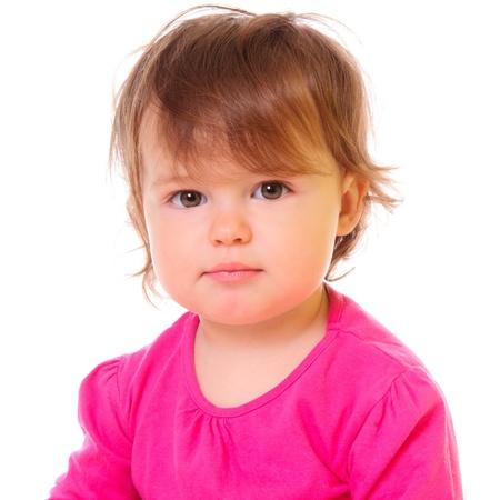 Pretty little girl  a child photo