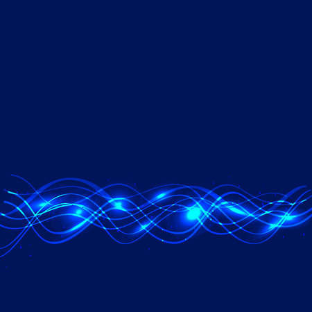 abstract waves: Abstract waves background