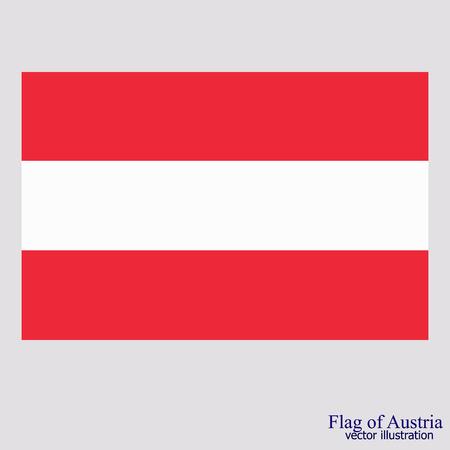 Flag of Austria. Illustration. 矢量图像