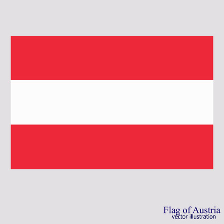 Flag of Austria. Illustration. Illustration