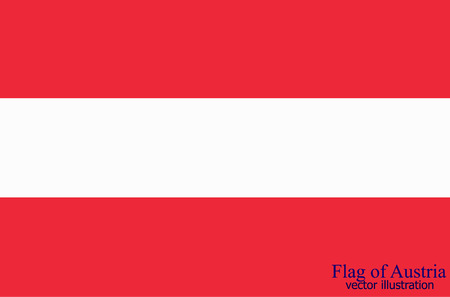 Bright background with flag of Austria. Happy Austria day background. Bright illustration with flag .