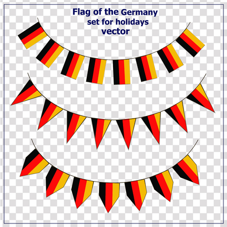 Set with flags Germany. Set with flags Germany.