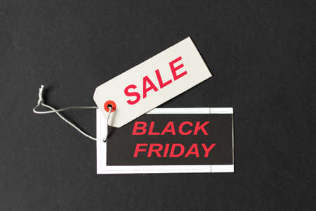 Cyber Monday or Black Friday sale. Holiday online shopping concept.