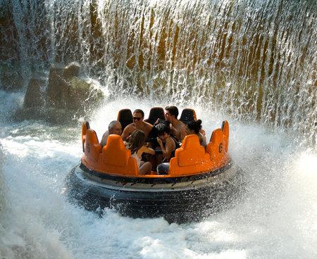 "Amusement park ""Mirabilandia"", Italy Editorial"