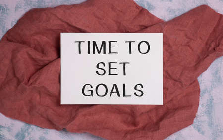 Conceptual hand writing showing Set Smart Goals. Business photo text list to clarify your ideas focus efforts use time wisely.
