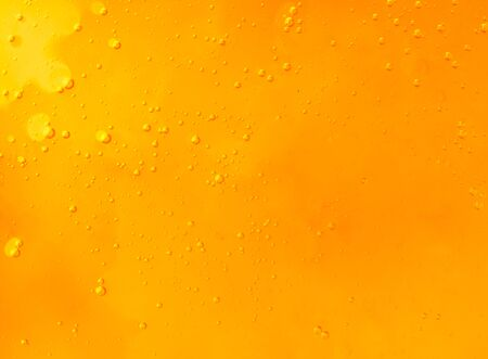 Honey background with air bubbles. Place for text Banco de Imagens - 129551954