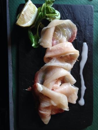 restaurante italiano: El pez espada en el restaurante italiano