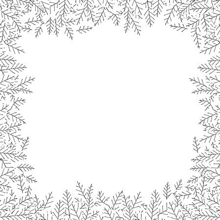 thorn bush: Thorn  Frames Illustration