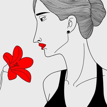 oppression: woman of virtue Illustration