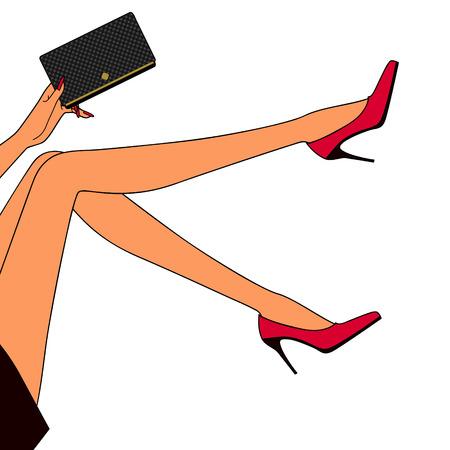 legs heels: beautiful womans legs
