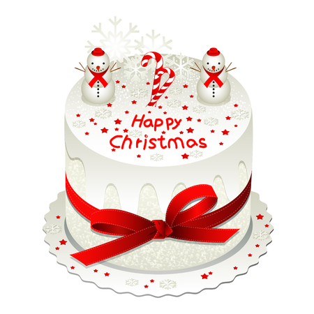 to confess love: christmas cake