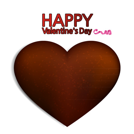 happy valentine's day: heart chocolate, happy valentines day