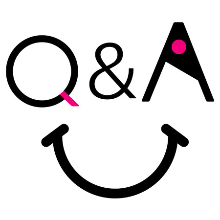 source: q&a smile, web source sign sticker