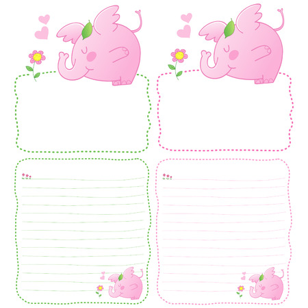 cuteness: pink baby elephant, pink baby elephant tale