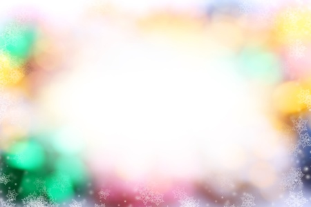 Glittery colorful christmas background photo