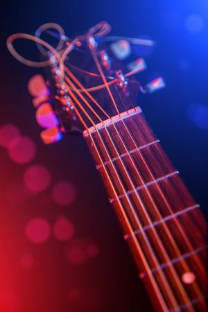 electric guitar close-up photo