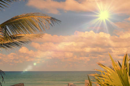 great beach day Stock Photo