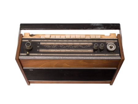 Radio Vinatge Banque d'images