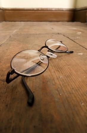 visually: Reading Glasses Stock Photo