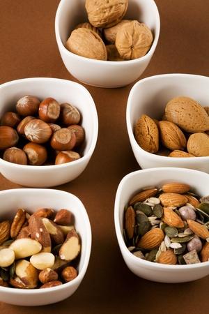 Petits pots de mixte de noix et graines