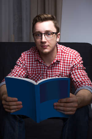 bookworm: Nice nerdy bookworm