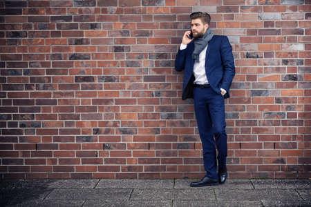 conversaciones: Las conversaciones de negocios Foto de archivo