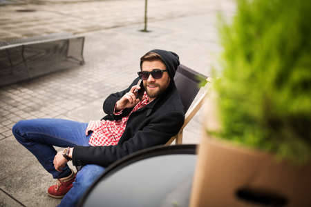cool gadget: Nice phone chat with friend