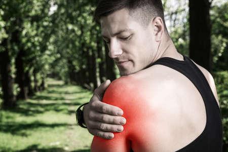 contusion: Shoulder pain