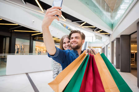 shopping centre: Selfie from shopping centre
