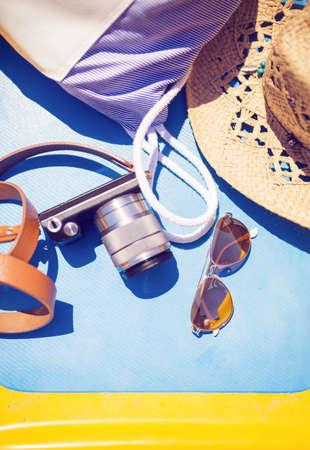 stuff: Tourist stuff Stock Photo