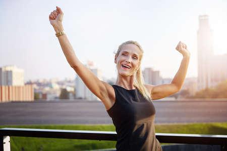 Successfull businesswoman