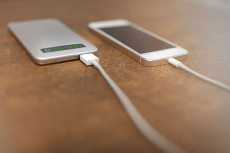 plainness: Smartphone charging by powerbank