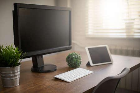 home office: Plain designed home office