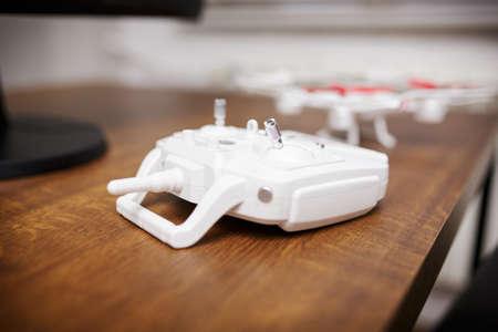 filmmaker: Drone remote control Stock Photo