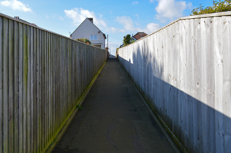 Footpath to House.