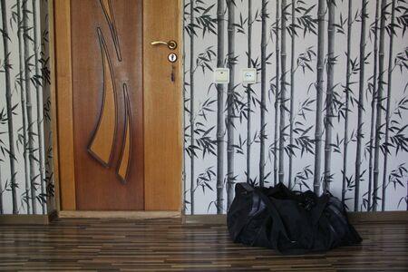 The door to the room is locked