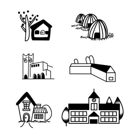 illustration of building Stock Vector - 16864502