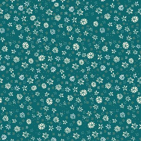 シームレスな花柄カバー、web ページの背景、グリーティング カードのための小さな花テンプレートと無限のテクスチャ  イラスト・ベクター素材
