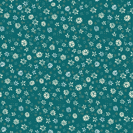 Seamless floral pattern  Endless texture with little flowers  Template for cover, web page background, greeting card
