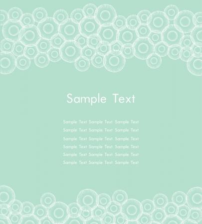 デザインの web ページの背景、カード、カラフルな円パターンで flayers テキストの背景のテンプレート  イラスト・ベクター素材