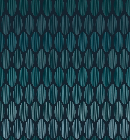 Abstract linear seamless pattern  Endless oval blue texture  Template for design and decoration