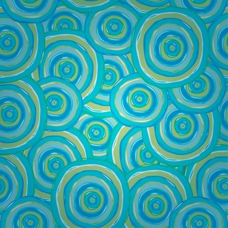 Résumé texture bleu sans fin spirale transparente avec manches Modèle coloré de design textile, papier d'emballage, enveloppes, colis, milieux Vecteurs