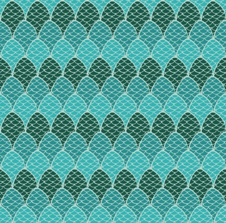 Endless ornamental hand drawn plaited texture  Seamless blue pattern, template for design and decoration covers, textile, wrapping paper, backgrounds Stock Vector - 16641620