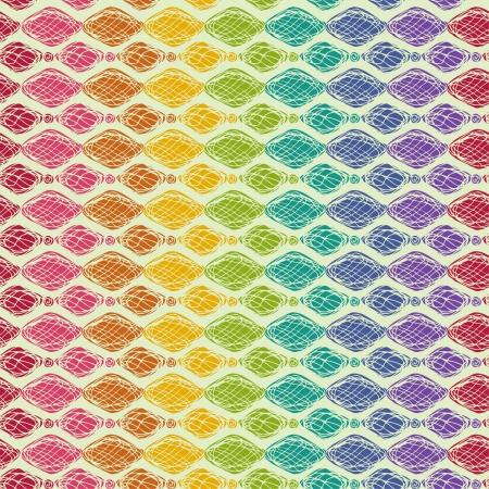 カラフルな明るいシームレス テクスチャのシームレスな虹の装飾的なパターンは包装紙、カバー、web ページの背景、テキスタイルなどデザインのテンプレートとして使用することができます。  イラスト・ベクター素材