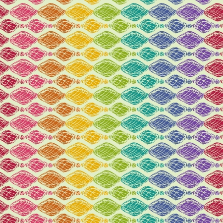 Colorful bright seamless texture  Seamless rainbow decorative pattern  Can be used as template for design wrapping paper, covers, web page background, textile etc Stock Vector - 16803665