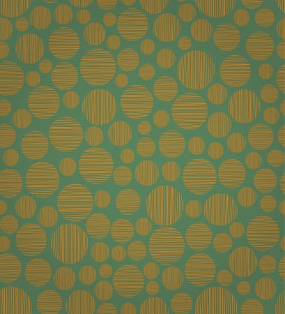 Abstract round seamless pattern  Endless orange texture  template for design and decoration Stock Vector - 17272511