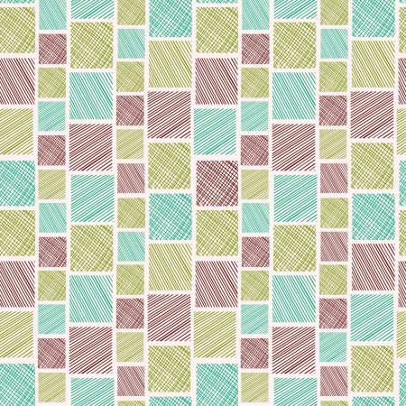 Endless colorful decorative geometric texture  Seamless square pattern  Template for design and decoration  Vector