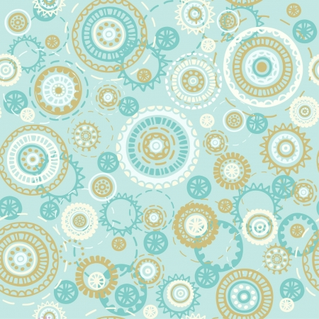 Abstract seamless geometric texture  endless pattern with circle ornament elements  template for design and decoration textile, backgrounds, wrapping paper, covers Stock Vector - 17272554