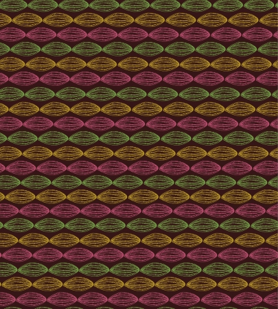 Endless plaited linear colorful texture  Seamless hand drawn neutral decorative pattern  Template for design textile, backgrounds, package, wrapping paper Stock Vector - 17272581